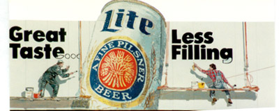 Lite Beer painting, Billboard Painting, Flying Armadillo Signs, Mike Burrell, FASCO